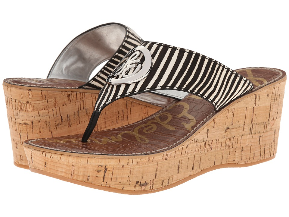 Sam Edelman - Ruth (Black/Ivory) Women's Sandals
