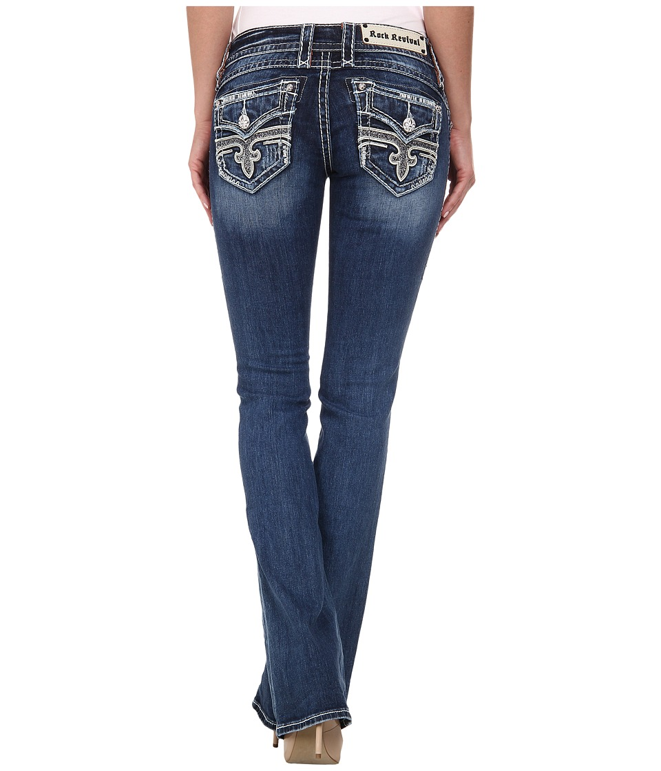 Rock Revival - Bali B5 Boot in Medium Indigo (Medium Indigo) Women's Jeans