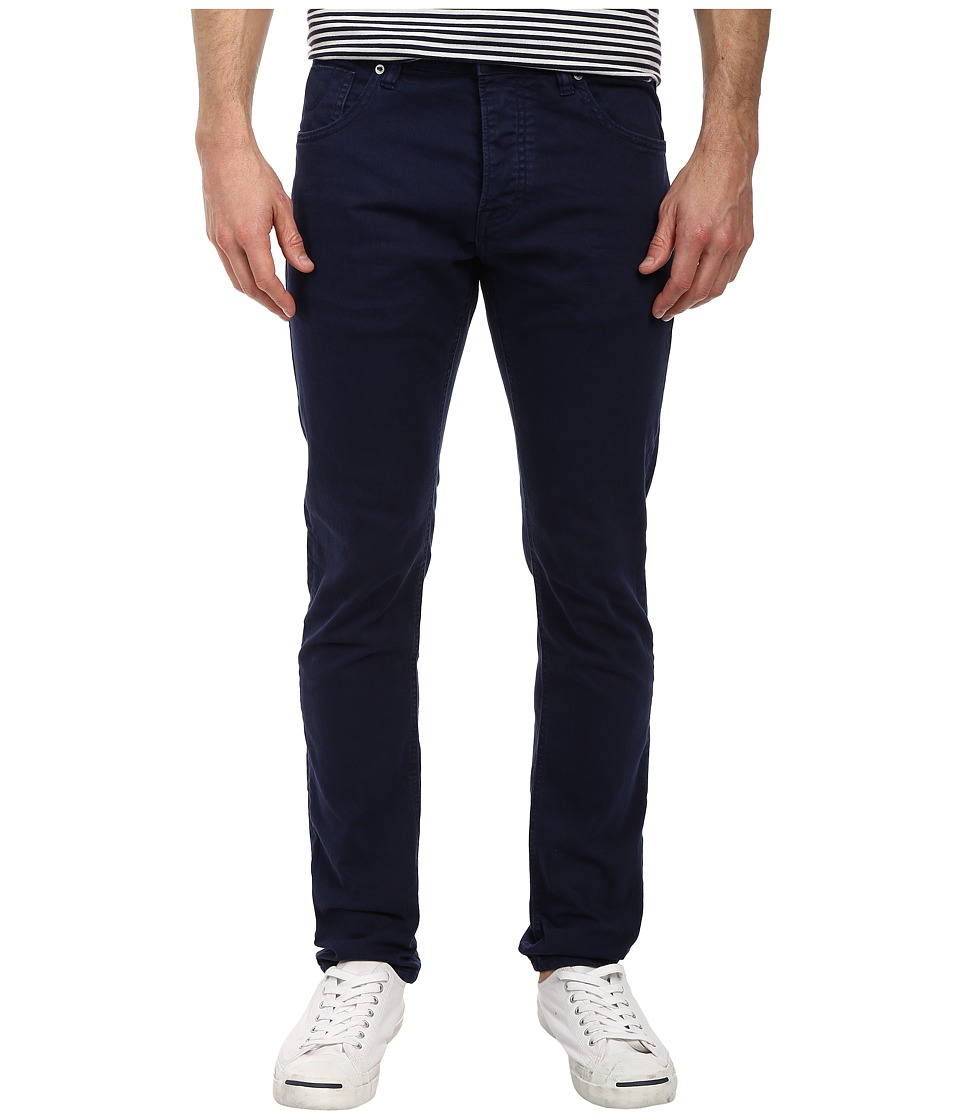 Scotch & Soda - Ralston Slim Garment Dye Pant (Navy) Men's Casual Pants