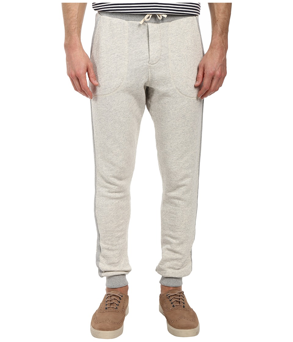 Scotch & Soda - Home Alone Worker Slim Sweatpant (Grey Melange) Men's Casual Pants