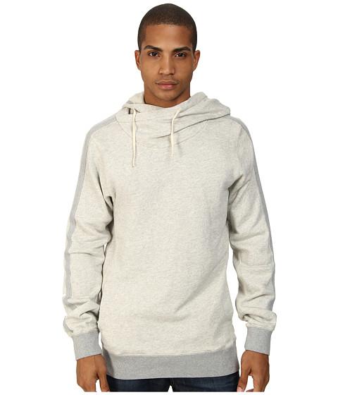 Scotch & Soda - Home Alone Twisted Hoodie (Grey Melange) Men's Sweatshirt