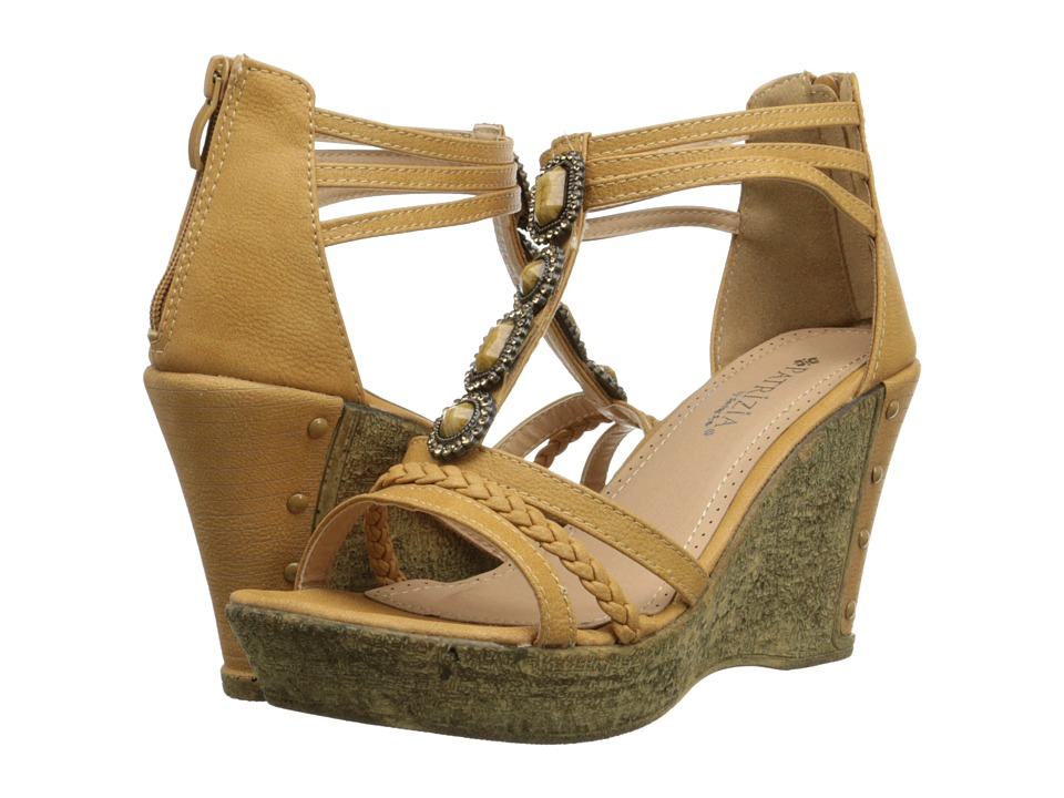 PATRIZIA - Pearl (Camel) Women's Wedge Shoes