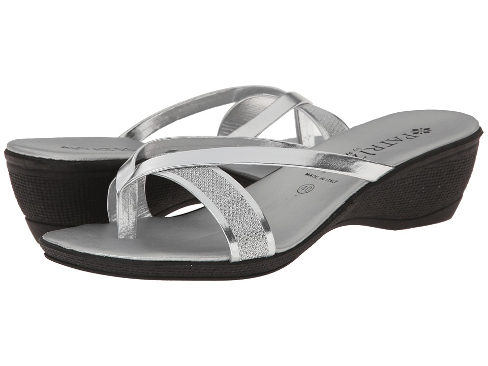 PATRIZIA - Cythera (Silver) Women's Toe Open Shoes