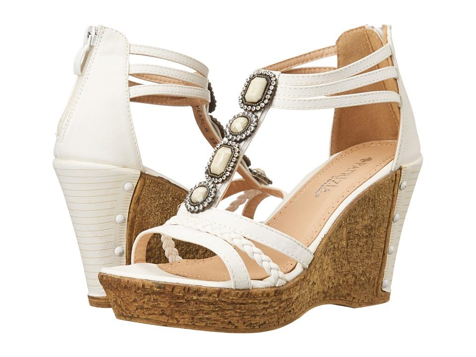 PATRIZIA - Pearl (White) Women's Wedge Shoes