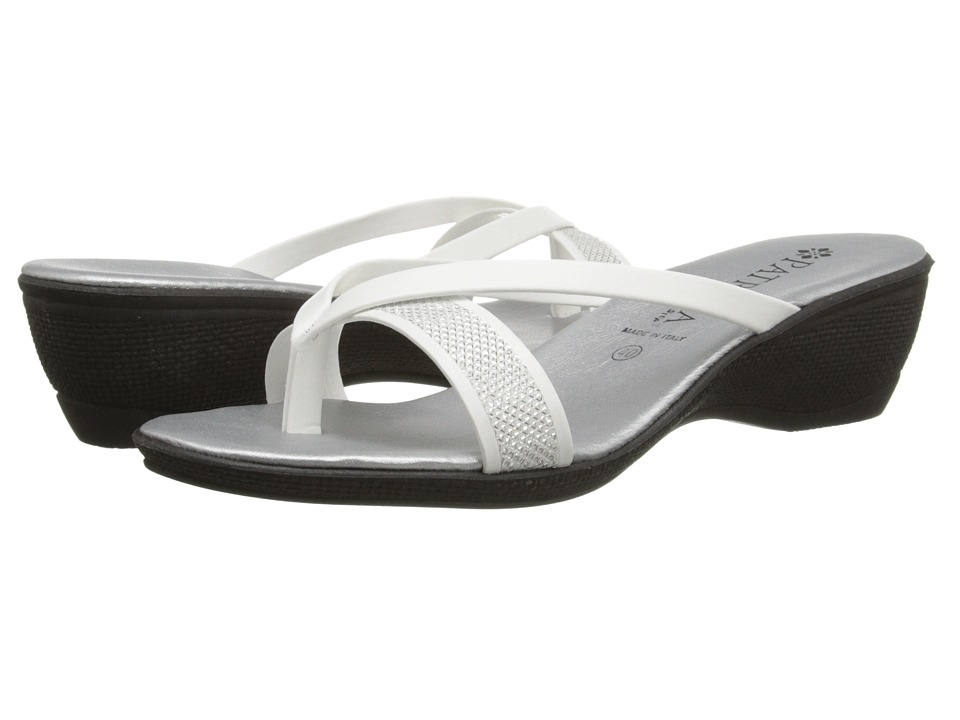 PATRIZIA - Cythera (White) Women's Toe Open Shoes