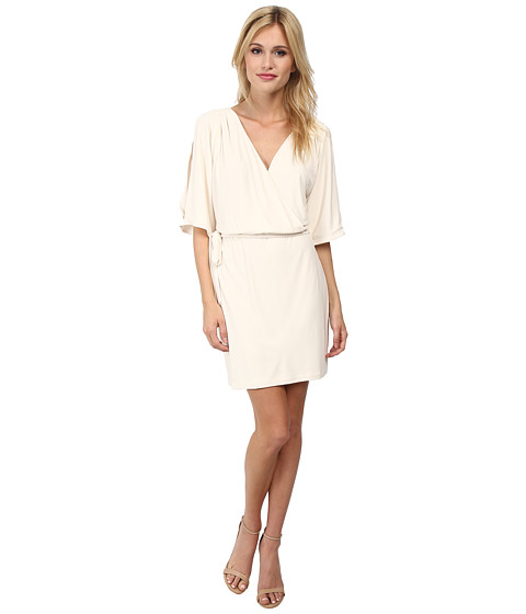 Jessica Simpson - V-Neck Wrap Dress (Pristine) Women