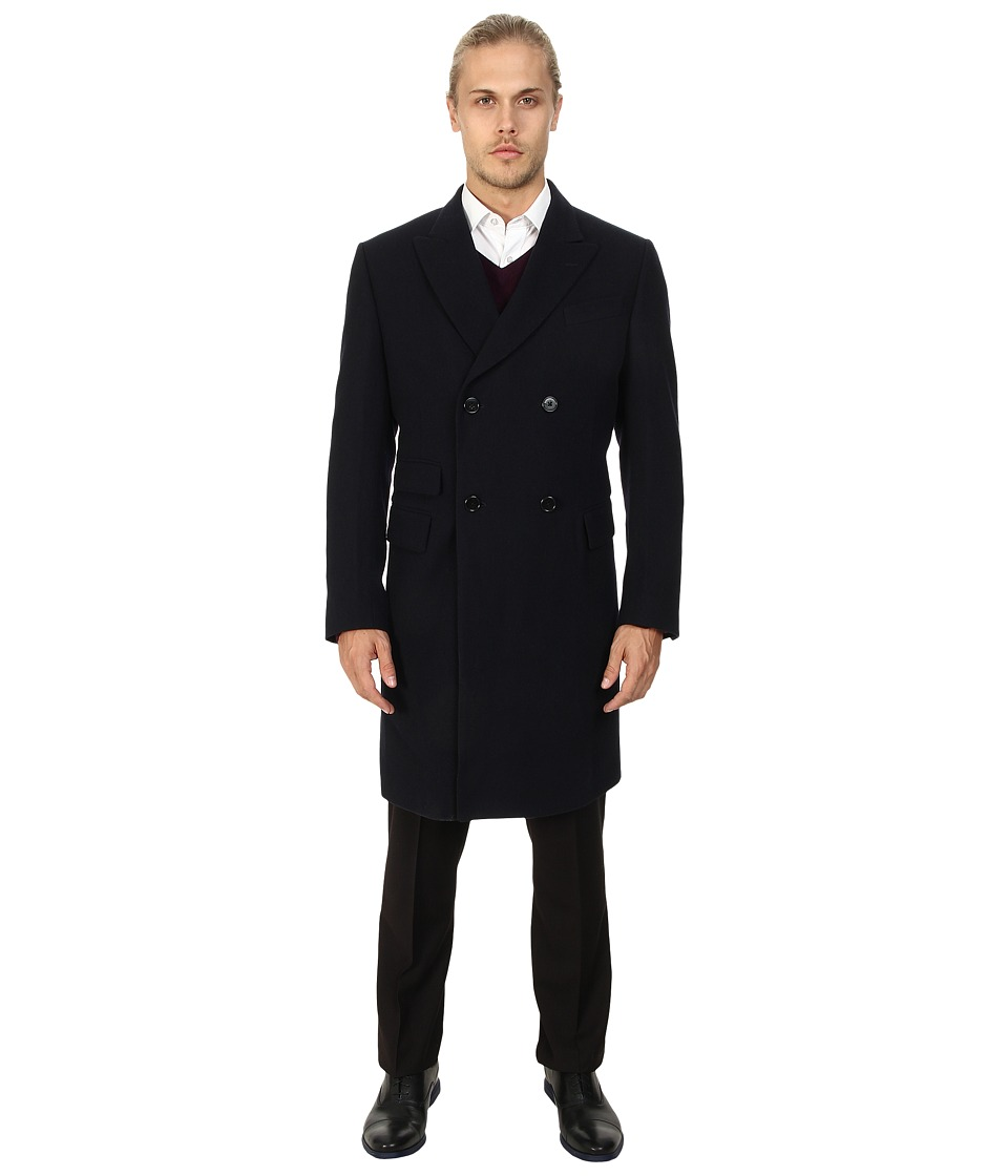 Gant Rugger - R. The Doubler Coat (Navy) Men's Coat