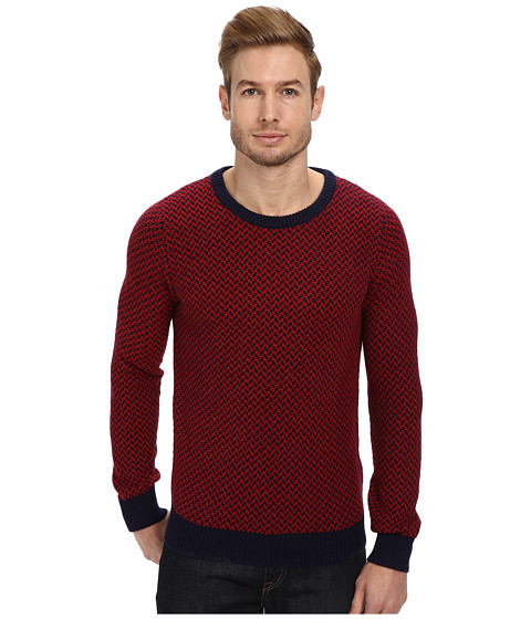Gant Rugger - R. The Jaquard (Evening Blue) Men's Sweater