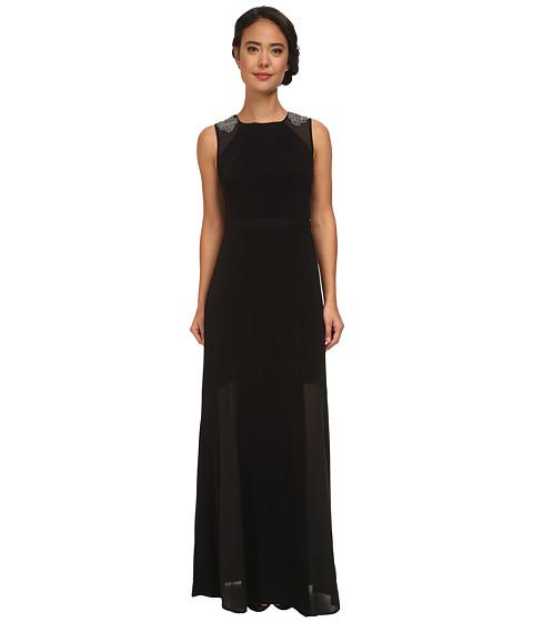 Jessica Simpson - Illusion Dress (Black) Women