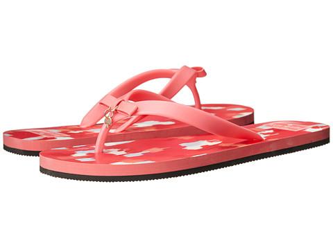 Kate Spade New York - Fifi (Flamingo Pink Rubber/Multi Summer Textured Ikat) Women