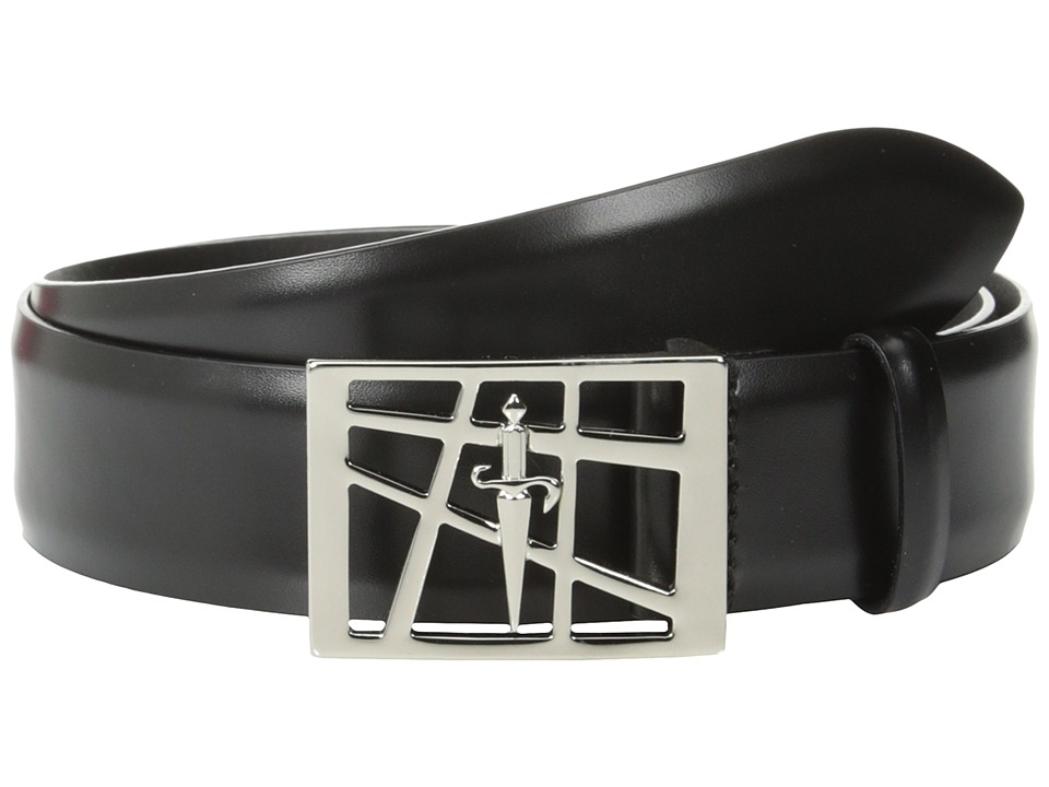 Cesare Paciotti - 1603 (Black Calf) Men's Belts