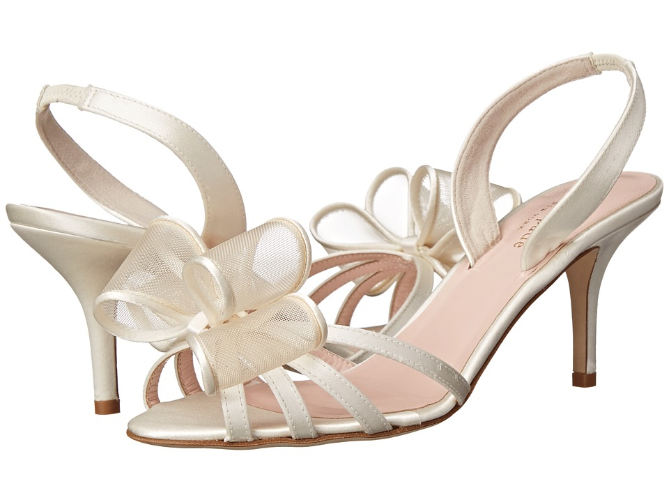Kate Spade New York - Salerno (Ivory Satin) Women's Shoes