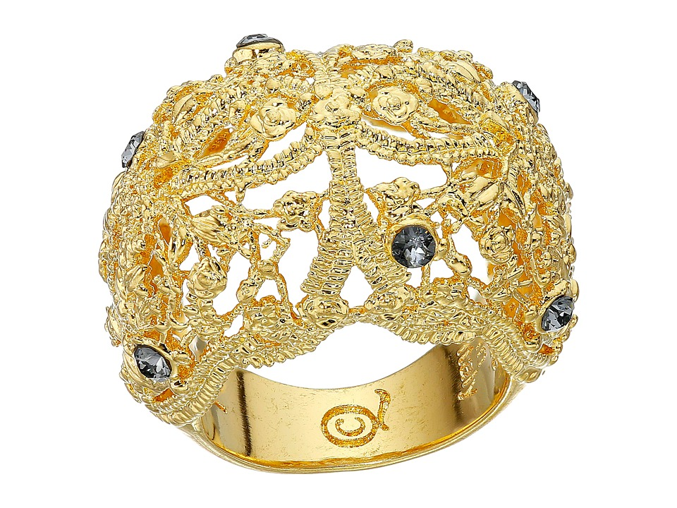 Alexander McQueen - Filigree Ring (Crystal Shade/Light Topaz) Ring
