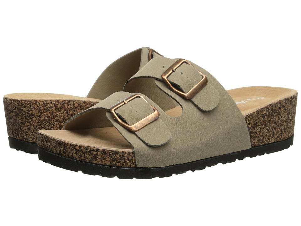 Dirty Laundry - Tai Chi (Taupe) Women's Slide Shoes