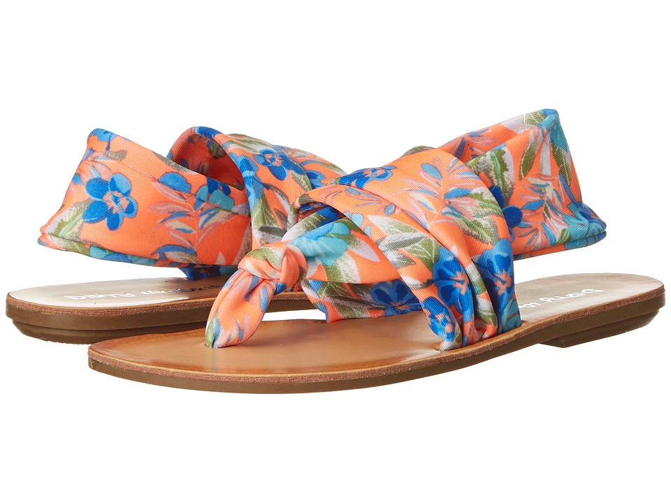 Dirty Laundry - Beebop (Coral Multi) Women's Sandals