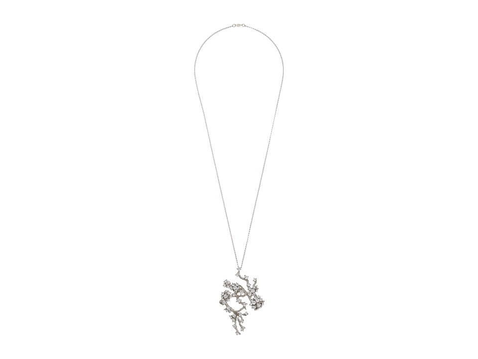 Alexander McQueen - Cherry Blossom Pendant (Crystal) Necklace