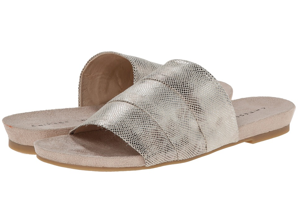 Chinese Laundry - Famous (Beige Metallic S) Women's Sandals