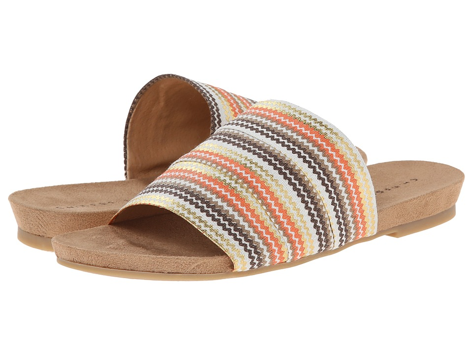 Chinese Laundry - Famous (Orange Multi Print) Women's Sandals