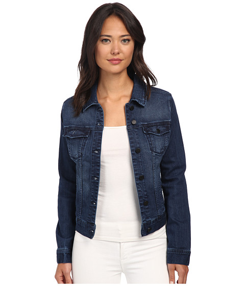 Liverpool - Saguaro Denim Jacket (Dark Blue) Women's Coat