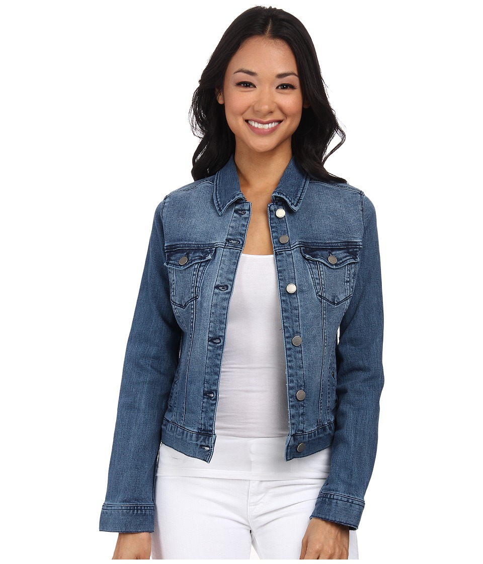 Liverpool - Saguaro Denim Jacket (Light Blue) Women's Coat