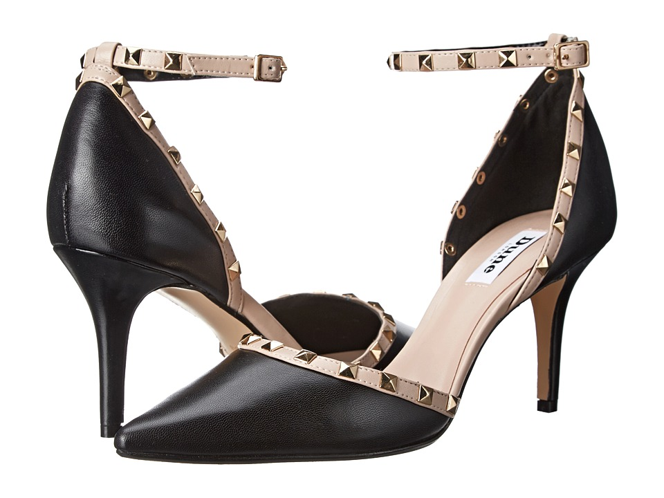 Dune London - Daveney (Black/Blush) High Heels