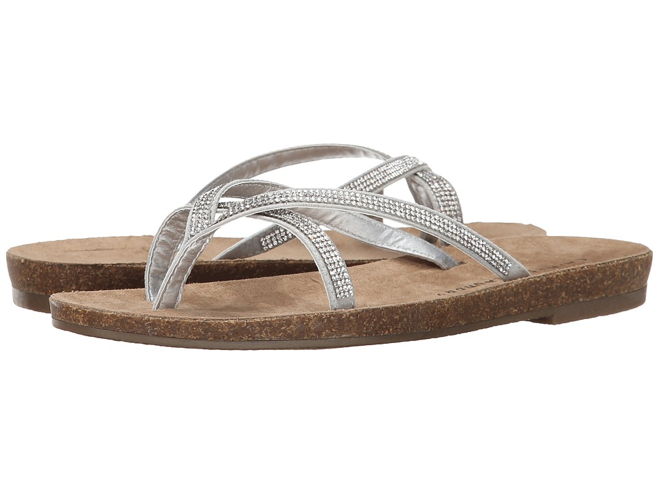 Chinese Laundry - Noah (Silver Micro Suede) Women's Sandals