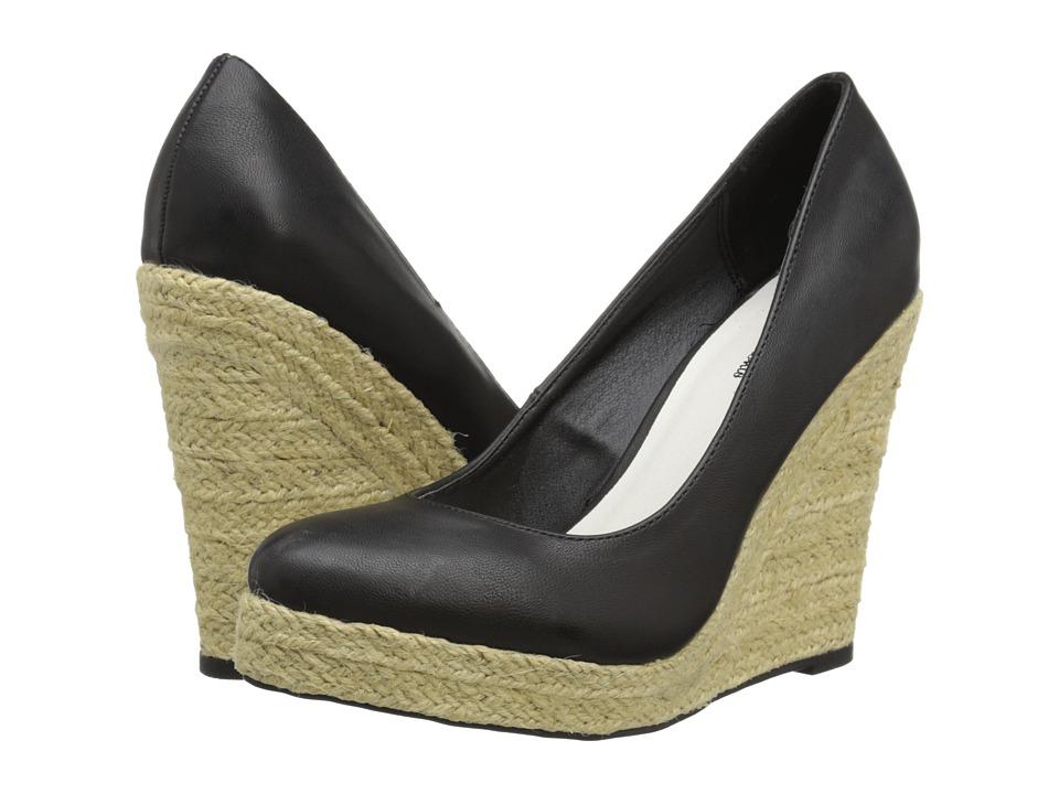 Michael Antonio - Anabel - SP15 (Black) Women's Wedge Shoes