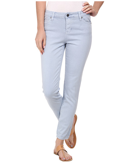 Liverpool - Pigment-Dyed Stretch Twill Penny Ankle Skinny (Forever Blue) Women