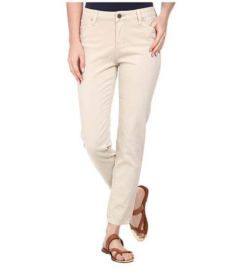 Liverpool - Pigment-Dyed Stretch Twill Penny Ankle Skinny (Oxford Tan) Women