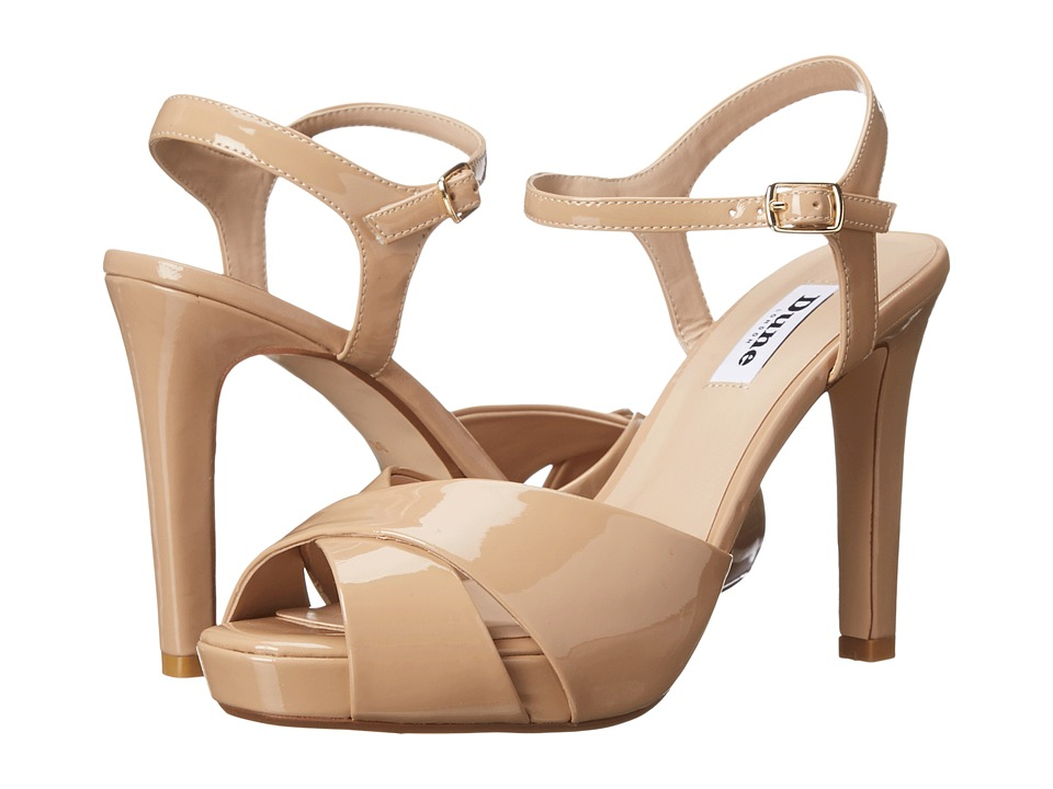 Dune London - Marleen (Nude Patent) Women's Dress Sandals