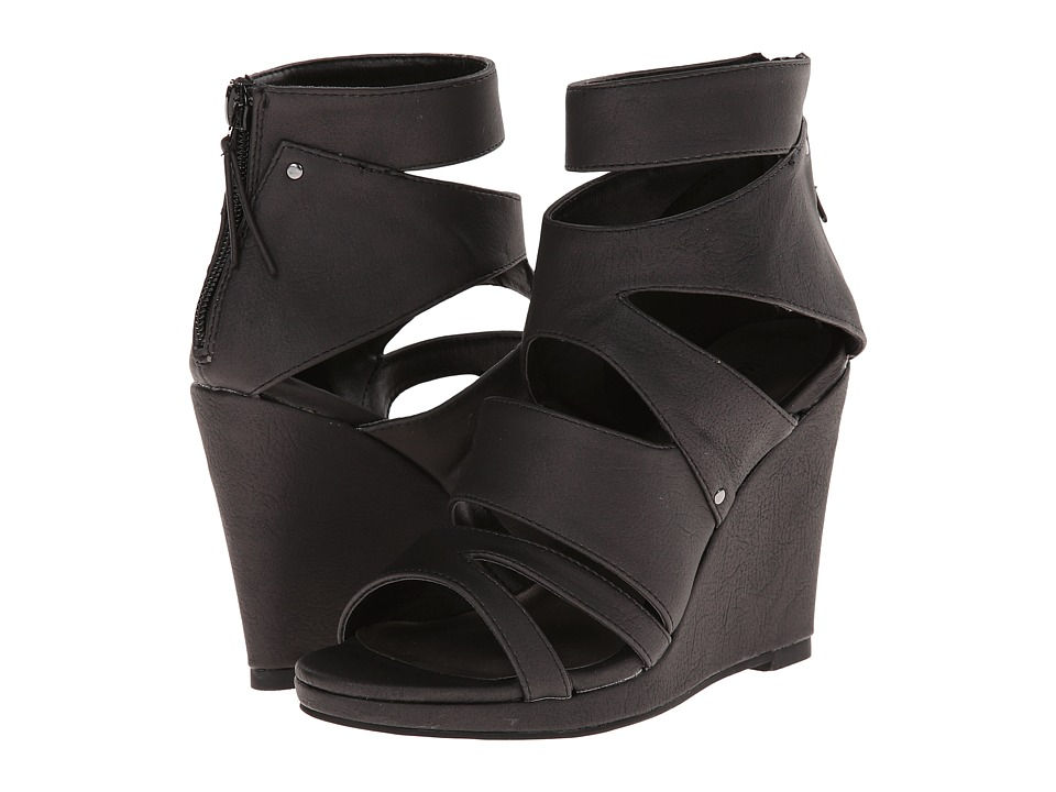 Michael Antonio - Allura (Black) Women's Wedge Shoes