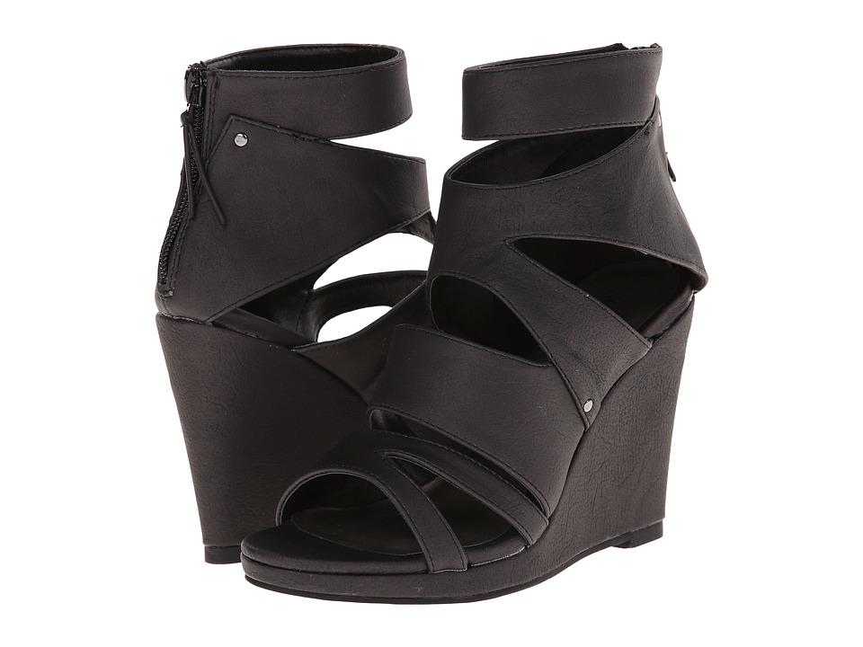 Michael Antonio - Allura (Black) Women's Wedge Shoes