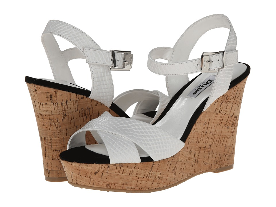 Dune London - Kingdom (White Print) Women's Sandals