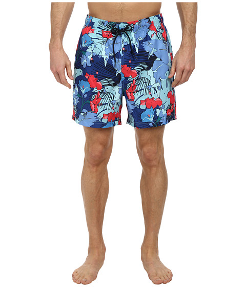 Nautica - Tropical Bird Trunk (Cabana Blue) Men's Swimwear