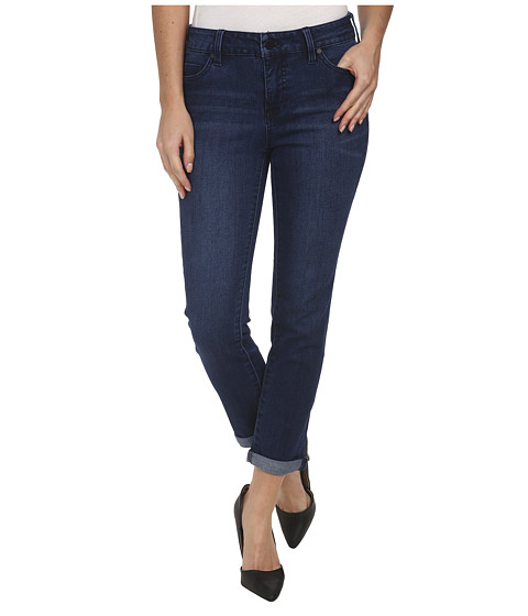 Liverpool - Saguaro Cami Crop (Dark Blue) Women's Jeans