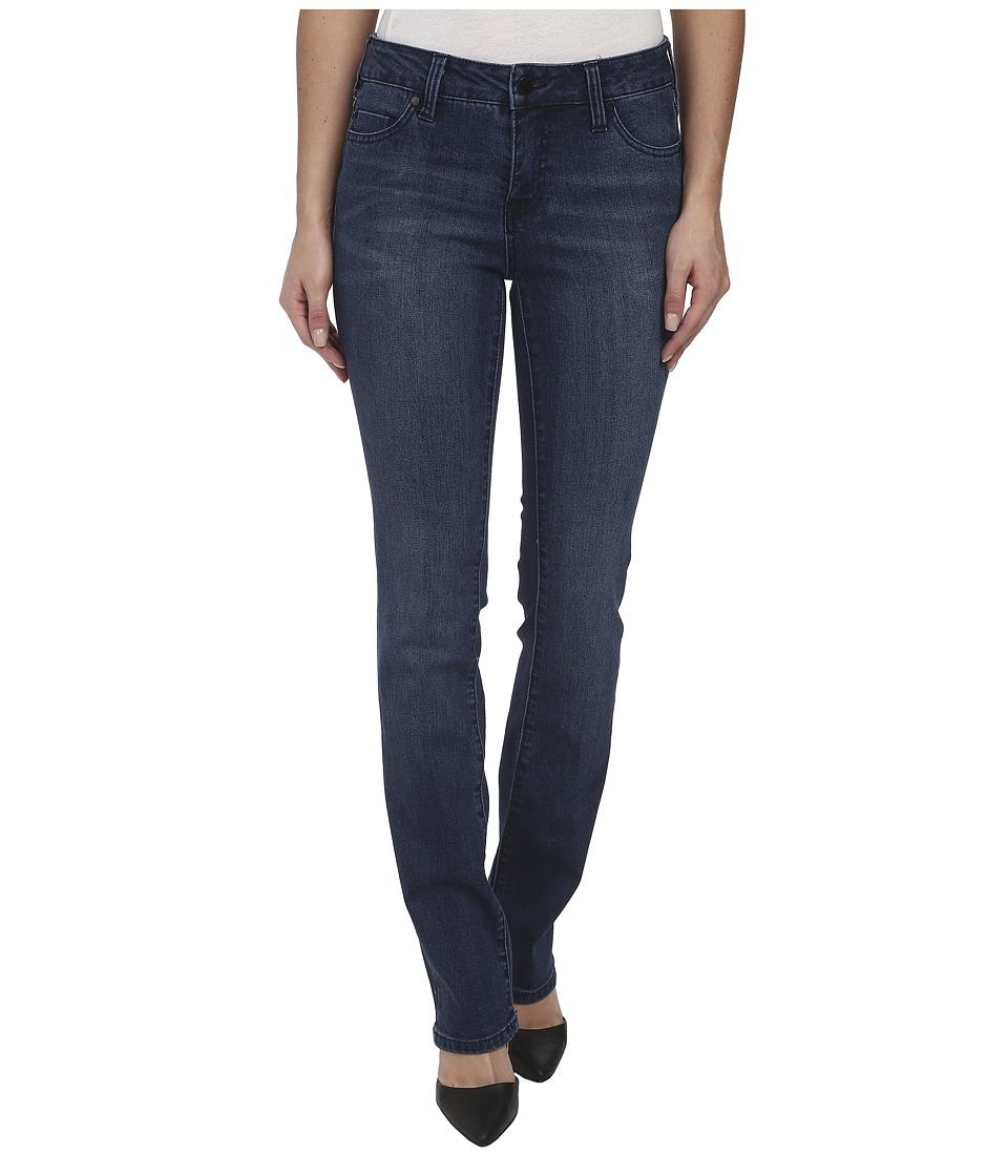 Liverpool - Saguaro Sadie Straight Jeans (Dark Blue) Women's Jeans