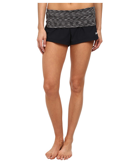 Speedo - 4-Way Stretch Short (Black) Women