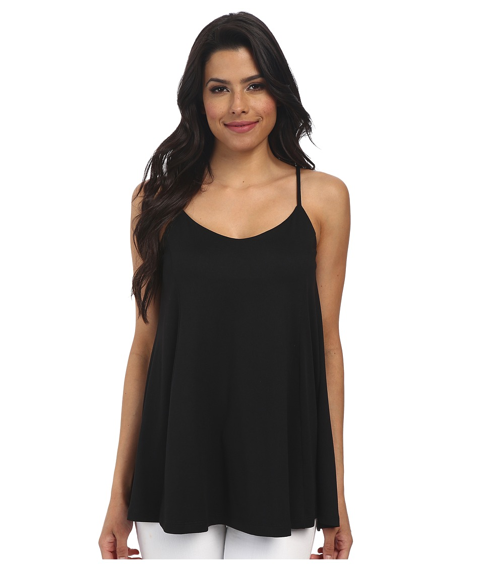 Susana Monaco - Willow Top (Black) Women's Clothing