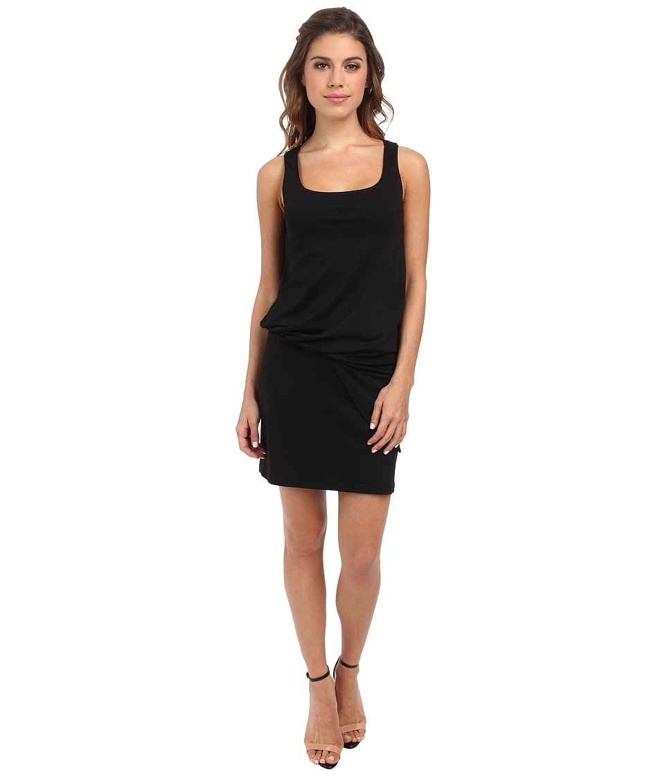 Susana Monaco - Tank Tuck Dress (Black) Women's Dress