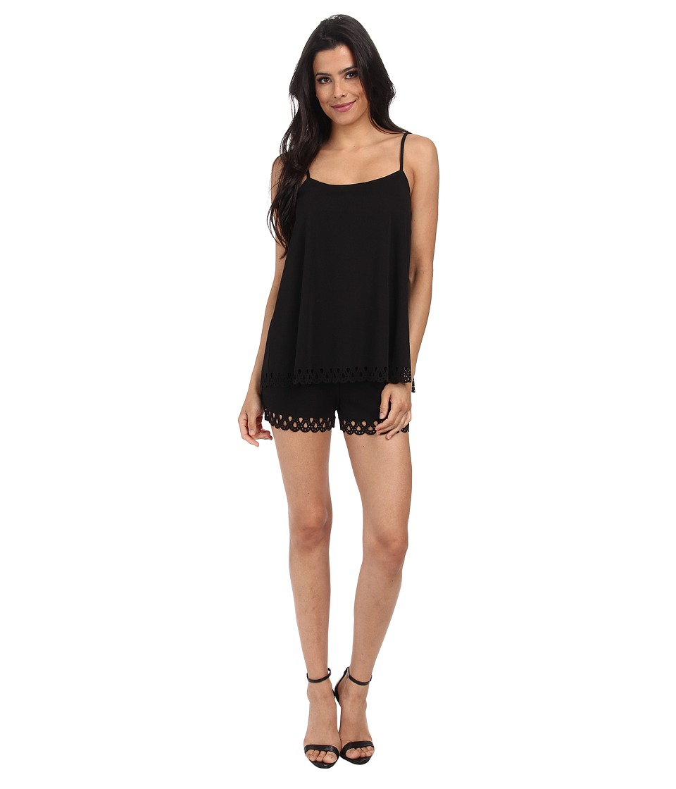 Susana Monaco - String Jumper (Black) Women's Jumpsuit & Rompers One Piece