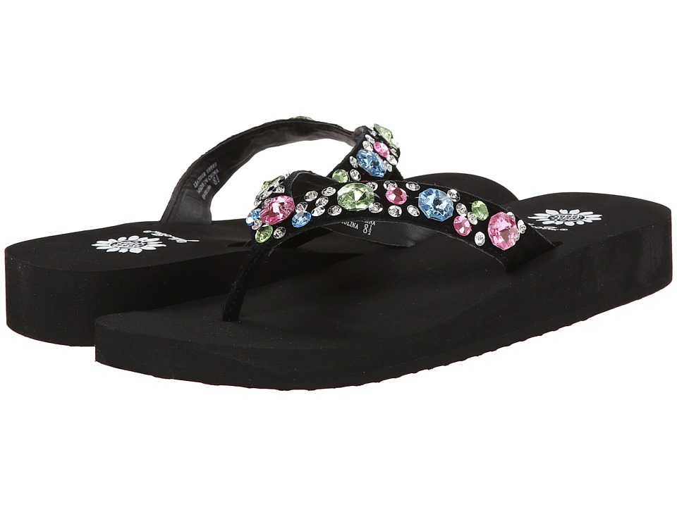 Yellow Box - Paulina (Black Multi) Women's Sandals