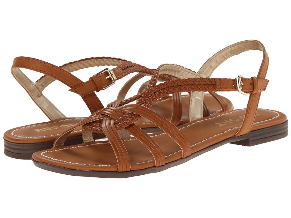 Report - Galaxie (Tan) Women's Flat Shoes