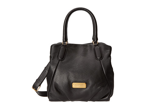 Marc by Marc Jacobs - New Q Fran (Black) Satchel Handbags