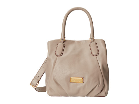 Marc by Marc Jacobs - New Q Fran (Cement) Satchel Handbags