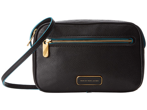 Marc by Marc Jacobs - Sally Solid Handbag (Black) Cross Body Handbags