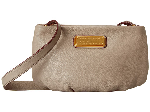 Marc by Marc Jacobs - New Q Percy (Cement) Cross Body Handbags