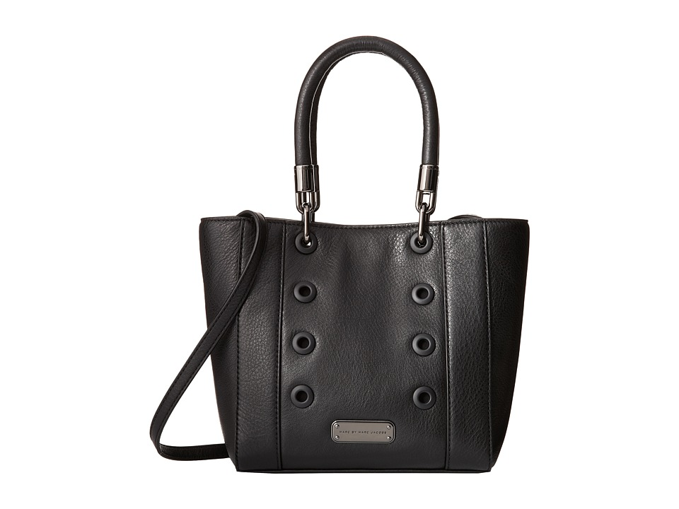 Marc by Marc Jacobs - New Too Hot To Handle Novelty Small Tote (Black) Tote Handbags