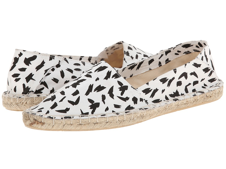 Report - Report Signature - Sphinx (Black White) Women's Flat Shoes