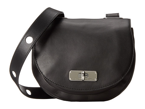Marc by Marc Jacobs - Donut Crossbody (Black) Cross Body Handbags