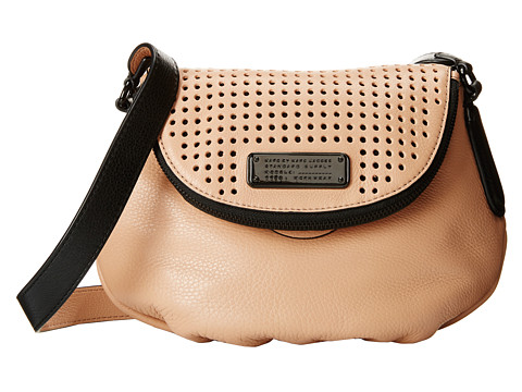 Marc by Marc Jacobs - New Q Perf Mini Natasha (Dark Buff) Cross Body Handbags
